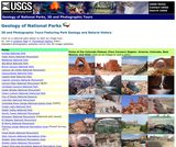 Geology of National Parks: 3D and Photographic Tours