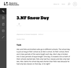 3.NF Snow Day