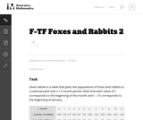 Foxes and Rabbits 2