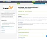 Digital Age Skill:  Element Research