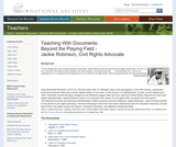 Jackie Robinson: Beyond the Playing Field