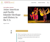 Asian-Pacific Heritage Month