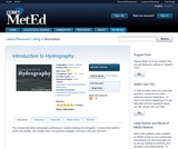 Introduction to Hydrography