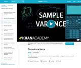 Statistics: Sample Variance