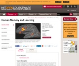 Human Memory and Learning, Fall 2002