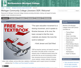Michigan Community College Librarians OER