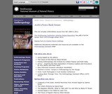 AnthroNotes: Museum of Natural History Publication for Educators