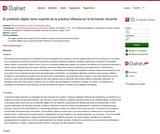 El portafolio digital como soporte de la práctica reflexiva en la formación docente