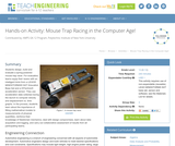 Mouse Trap Racing in the Computer Age!