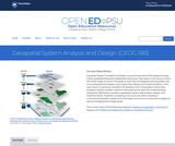 Geospatial System Analysis and Design