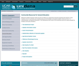 Unidata Community Resources for General Education: K12 Weather Sites