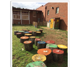 Cause and Effect in the Garden -- Out Teach