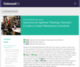 Operations & Algebraic Thinking: Unbound | A Guide to Grade 2 Mathematics Standards