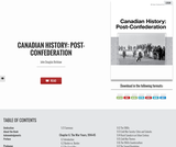 Canadian History: Post-Confederation