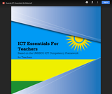 ICT Essentials for Teachers Curriculum Guide