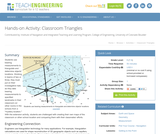 Classroom Triangles