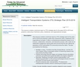 Intelligent Transportation Systems (ITS) Strategic Plan 2015-2019