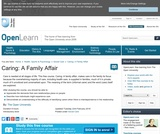 Caring: A Family affair