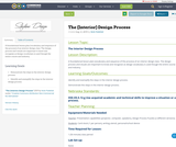 The (Interior) Design Process