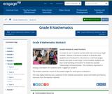Grade 8 Module 6: Linear Functions
