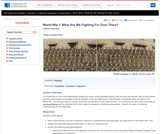 World War I: What Are We Fighting for Over There?