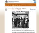 African American Civil Rights Movement in Oklahoma