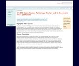 Basic Human Pathology: Parts I and II