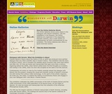 "APS Museum ""Dialogues with Darwin"" Online Exhibition"