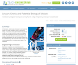 Kinetic and Potential Energy of Motion