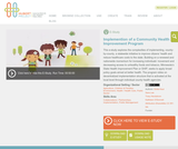 Implementation of a Community Health Improvement Program