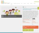 Implementation of a Community Health Improvement Program
