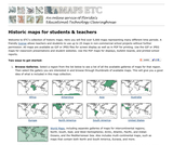 Historic Maps from Educational Technology Clearinghouse (ETC)