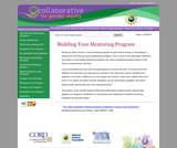 The Collaborative for Gender Equity: Building Your Mentoring Program