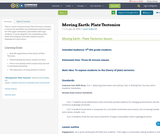 Moving Earth: Plate Tectonics