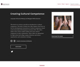 Creating Cultural Competence