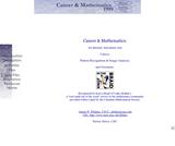 Cancer & Mathematics (MSTE)