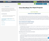 Learn Easy Steps: Your Digital Footprint