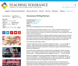Anonymous Writing Partners