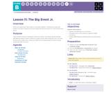 CS Fundamentals 2.11: The Big Event Jr.