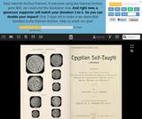 Egyptian Self-Taught Arabic (PDF)