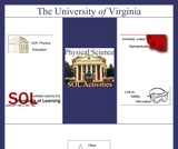 University of Virginia: 8th Grade Physical Science SOL Activities