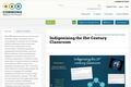 Indigenizing the 21st Century Classroom