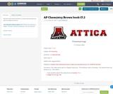 AP Chemistry Brown book 17.2