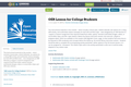 OER Lesson for College Students