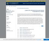 Computer Organization and Design Fundamentals Series