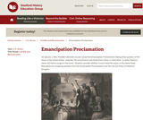 Reading Like a Historian: Emancipation Proclamation