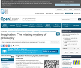Imagination: The Missing Mystery of Philosophy
