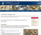 A Pro-Slavery Argument, 1857
