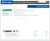 Inquiring Minds: Fermilab