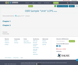 "OER Sample ""Unit"" LCPS"